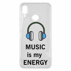 Phone case for Huawei P Smart Plus Music is my energy