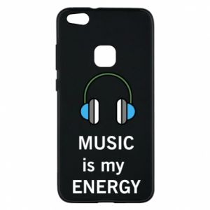 Phone case for Huawei P10 Lite Music is my energy