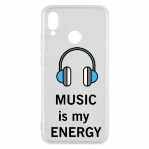 Phone case for Huawei P20 Lite Music is my energy
