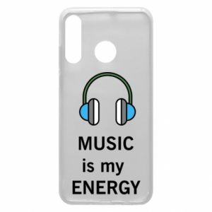 Phone case for Huawei P30 Lite Music is my energy