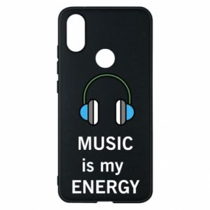 Phone case for Xiaomi Mi A2 Music is my energy