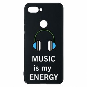 Phone case for Xiaomi Mi8 Lite Music is my energy