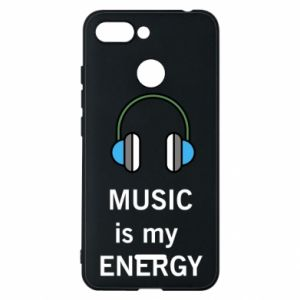 Phone case for Xiaomi Redmi 6 Music is my energy