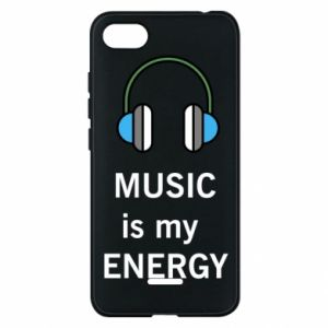 Phone case for Xiaomi Redmi 6A Music is my energy