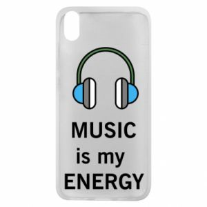 Phone case for Xiaomi Redmi 7A Music is my energy