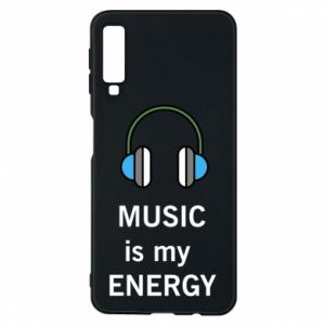 Phone case for Samsung A7 2018 Music is my energy