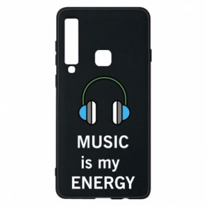 Phone case for Samsung A9 2018 Music is my energy