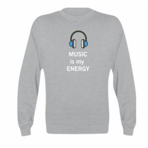 Bluza dziecięca Music is my energy