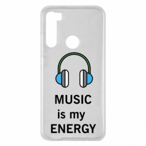 Etui na Xiaomi Redmi Note 8 Music is my energy