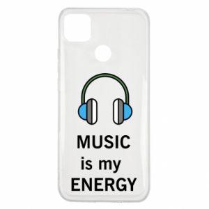 Etui na Xiaomi Redmi 9c Music is my energy