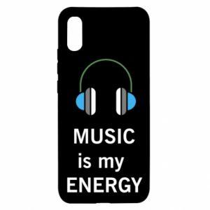 Etui na Xiaomi Redmi 9a Music is my energy