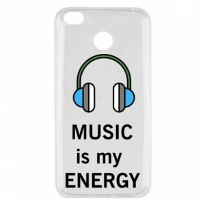Etui na Xiaomi Redmi 4X Music is my energy