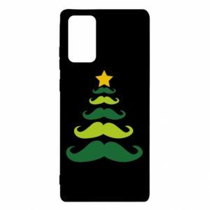 Etui na Samsung Note 20 Mustache Christmas Tree