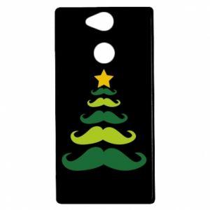 Etui na Sony Xperia XA2 Mustache Christmas Tree