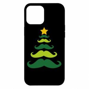 Etui na iPhone 12 Pro Max Mustache Christmas Tree