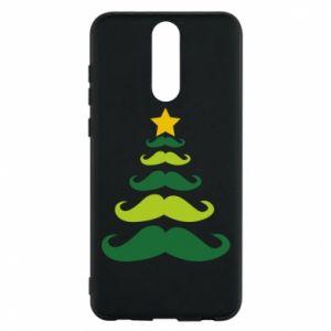 Etui na Huawei Mate 10 Lite Mustache Christmas Tree