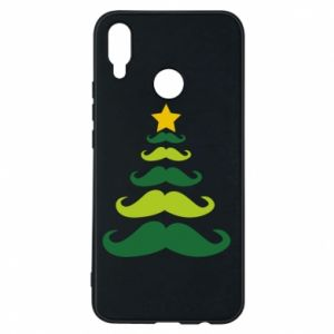 Etui na Huawei P Smart Plus Mustache Christmas Tree