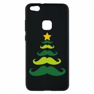 Etui na Huawei P10 Lite Mustache Christmas Tree