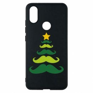 Etui na Xiaomi Mi A2 Mustache Christmas Tree