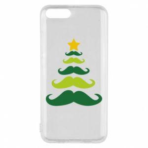 Etui na Xiaomi Mi6 Mustache Christmas Tree