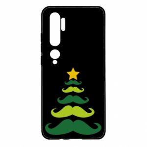 Etui na Xiaomi Mi Note 10 Mustache Christmas Tree