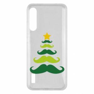 Etui na Xiaomi Mi A3 Mustache Christmas Tree