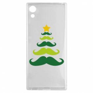 Etui na Sony Xperia XA1 Mustache Christmas Tree