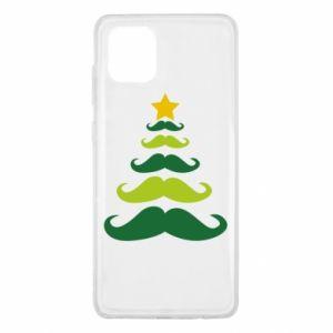 Etui na Samsung Note 10 Lite Mustache Christmas Tree