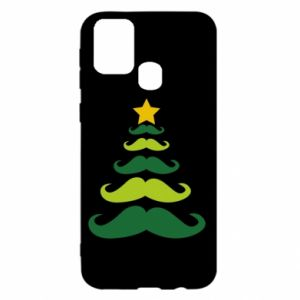 Etui na Samsung M31 Mustache Christmas Tree