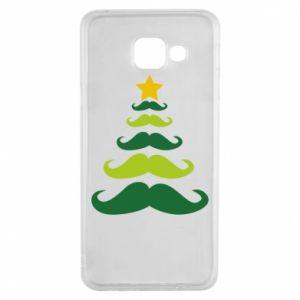 Etui na Samsung A3 2016 Mustache Christmas Tree