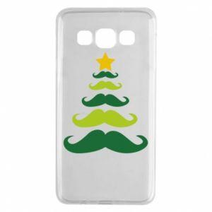 Etui na Samsung A3 2015 Mustache Christmas Tree