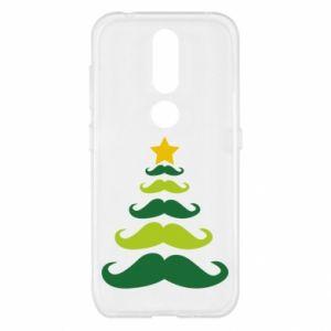 Etui na Nokia 4.2 Mustache Christmas Tree