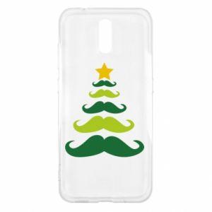 Etui na Nokia 2.3 Mustache Christmas Tree