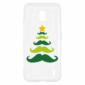 Etui na Nokia 2.2 Mustache Christmas Tree
