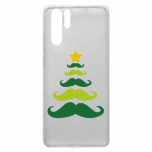 Etui na Huawei P30 Pro Mustache Christmas Tree