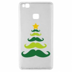 Etui na Huawei P9 Lite Mustache Christmas Tree