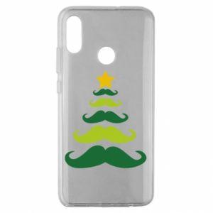 Etui na Huawei Honor 10 Lite Mustache Christmas Tree
