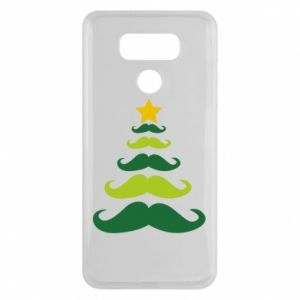 Etui na LG G6 Mustache Christmas Tree