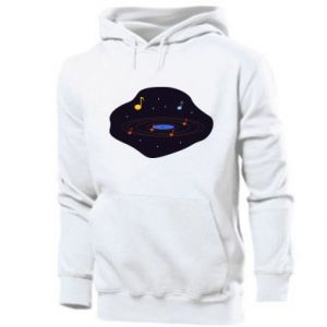 Men's hoodie Music galaxy