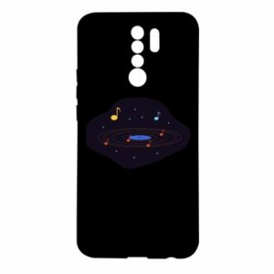 Xiaomi Redmi 9 Case Music galaxy