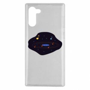 Samsung Note 10 Case Music galaxy