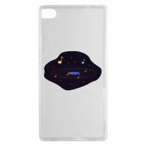 Huawei P8 Case Music galaxy