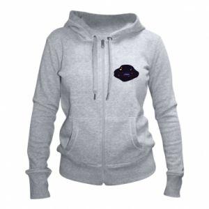 Women's zip up hoodies Music galaxy