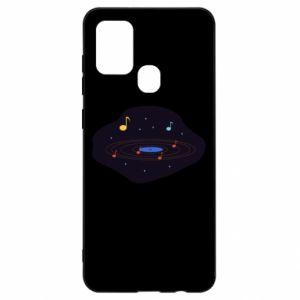 Samsung A21s Case Music galaxy