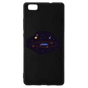 Huawei P8 Lite Case Music galaxy