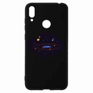 Etui na Huawei Y7 2019 Muzyczna galaktyka
