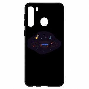 Etui na Samsung A21 Muzyczna galaktyka