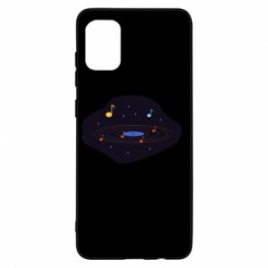 Etui na Samsung A31 Muzyczna galaktyka