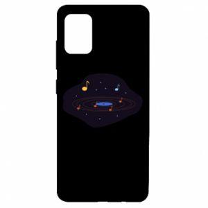 Etui na Samsung A51 Muzyczna galaktyka