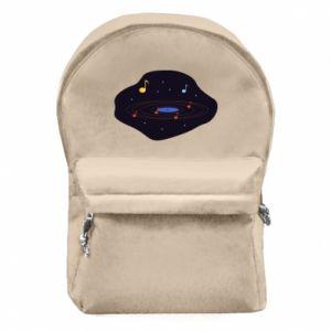 Plecak z przednią kieszenią Muzyczna galaktyka